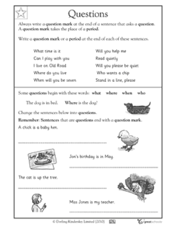 5W questions worksheet - Ms.Rodriguez's Blog